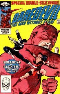 Daredevil #181   Death of Elektra Frank Miller Books