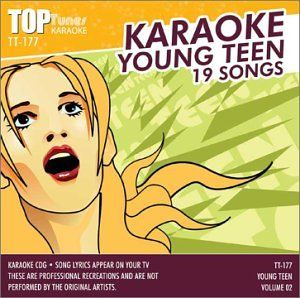 Top Tunes Karaoke CDG Young Teen Vol 2 TT 177 Various Artists Music
