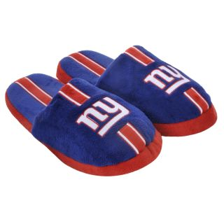 New York Giants Striped Slide Slippers