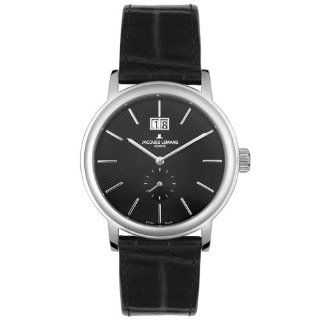 Jacques Lemans Mens GU178A Geneve Baca Extra Flat Collection Watch