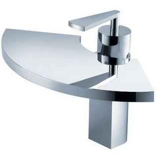 Fluid Fan Single handle Chrome Bathroom Faucet Today $434.99 4.0 (1