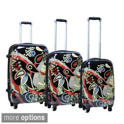 Calpak Woodstock 3 piece Expandable Hardside Spinner Luggage Set MSRP