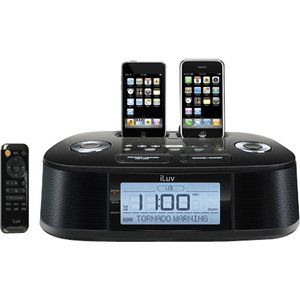 ILUV CREATIVE TECHNOLOGY, iLuv iMM183 Desktop Clock Radio