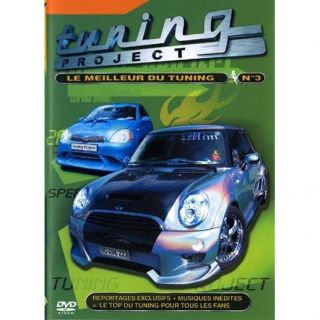 DVD TUNING PROJECT VOL. 3 en DVD DOCUMENTAIRE pas cher