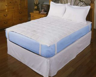 Ultra Soft 240 Thread Count Down Topper Pad