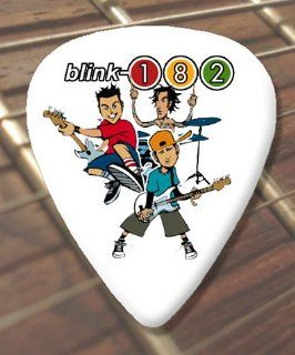 Blink 182 Cartoon Premium Guitar Picks x 5 Medium Musical