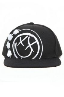 Blink 182 Smiley Logo Snapback Ball Cap Clothing