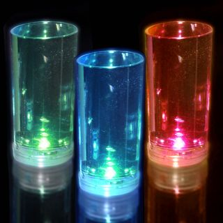Slender Liquid Activated Flashing Shot Glasses Today $26.99