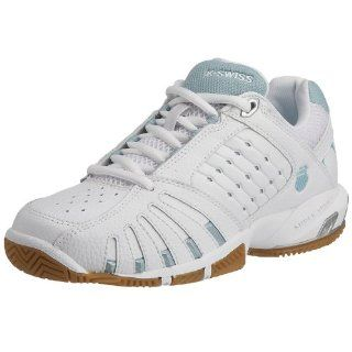 SWISS Forecourt Womens Shoe (10, White/Blue Haze/Platinum) Shoes