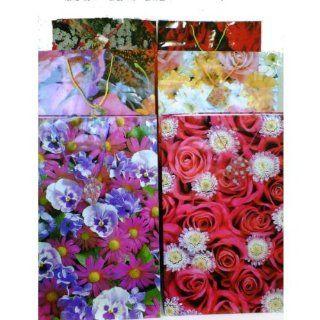 Giant Floral Gift Bag (72 Pack)