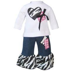 Ann Loren Boutique American Girl Dolls Jean Outfit