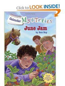 Calendar Mysteries #6: June Jam (A Stepping Stone Book(TM)): Ron Roy