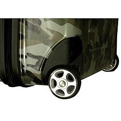 Heys Blue Camouflage 3 piece Hardside Luggage Set