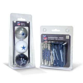 Dallas Cowboys NFL Golf Ball and Tee Set