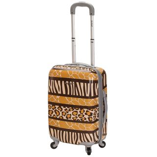 Rockland Safari 20 inch Lightweight Hardside Spinner Carry on Luggage