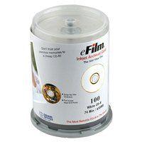 eFilm Archival Gold CD R 100 Pack, Inkjet Printable