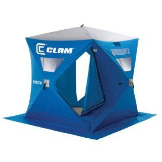 Clam Vista (6x6 hub) 2 3 man Ice Fishing Shelter House
