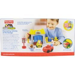Fisher Price Little People Discovering Vehicles at The Garage