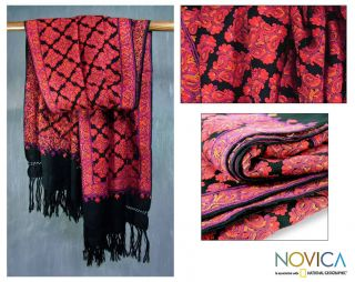 Wool Lavish Night Shawl (India)