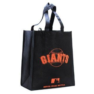 San Francisco Giants Black Reusable Tote Bag Sports