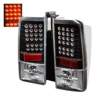 Scion XB 2003 2004 2005 2006 LED Tail Lights   Black