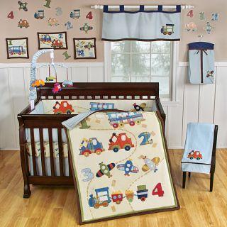 Carters Jungle Jill 7 Piece Crib Bedding Set