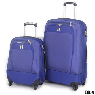 International Traveller 2 piece Double Expander Spinner Luggage Set