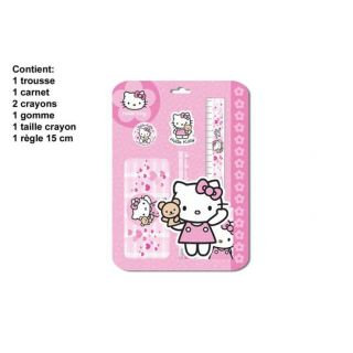 Blister Papeterie Hello Kitty   Achat / Vente PACK PRODUITS ECRITURE