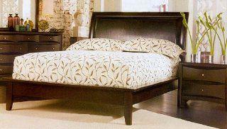 Phoenix Cappuccino Cal King Platform Bed Frame Home
