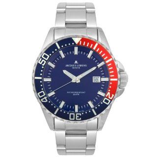 Jacques Lemans Mens GU194C Geneve Tempora Diver 20 ATM Collection
