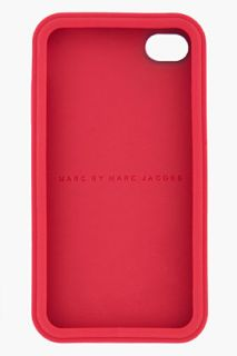 Marc By Marc Jacobs Red Silicone iPhone 4 Case for Men