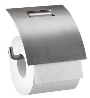 Hansgrohe Axor Toilet Paper Holder with Cover, Stainless Steel Optic
