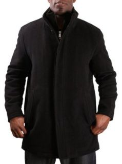 Marc New York Andrew Marc Mens Peacoat Car Coat Wool