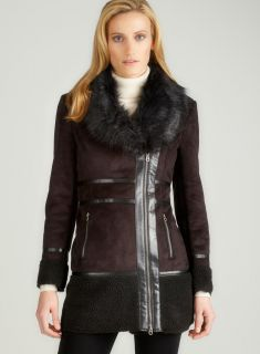 Members Only Faux Shearling Coat