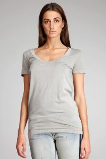James Perse  Scoop Neck T shirt for women