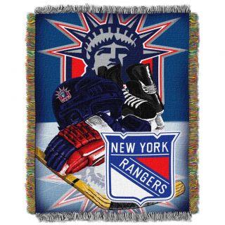 Northwest Texas Rangers Woven Jacquard Acrylic Blanket