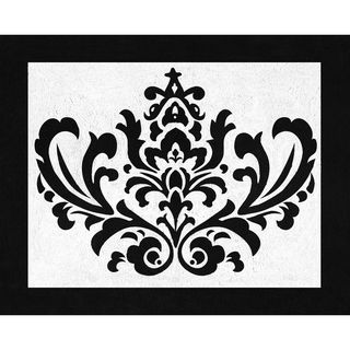 Sweet JoJo Designs Black and White Isabella Accent Floor Rug