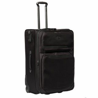 Delsey Helium Pro H Lite Black 29 inch Expandable Suiter Upright