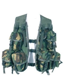 Web Tex British Military Classic Ass Vest , Camouflage
