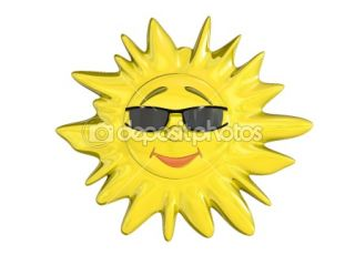 Cartoon sun  Stock Photo © Anton Novikov #1073525