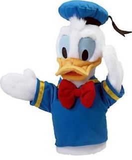 Donald Duck Hand Puppet By Disney From FAO Schwarz 12