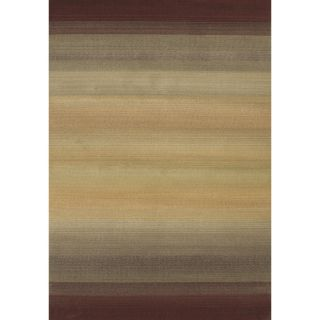 Baldwin Brown/Beige Transitional Area Rug (99 x 122)