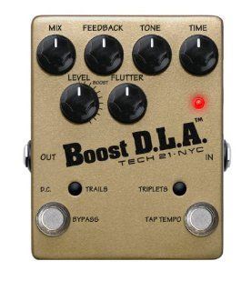 Tech 21 DLA TT Boost D.L.A. with Tap Tempo Guitar Delay
