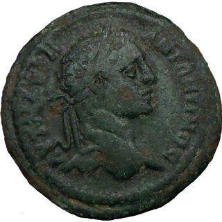 CARACALLA 198AD Pautalia Thrace Rare Ancient Roman Coin Nude MERCURY