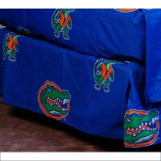 University of Florida Gators King size Bedskirt