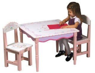 Guidecraft Tea Party Table & Chair Set Toys & Games