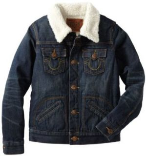 True Religion Boys 2 7 Daltry Retro Jacket: Clothing