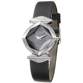 Wittnauer Winter Garden Stainless Steel Womens Diamond Watch