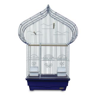 Prevue Pet Products Blue and White Casbah Cage