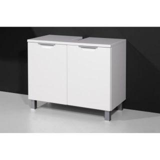 LIQUID meuble sous lavabo blanc 70 cm   Achat / Vente MEUBLE SOUS